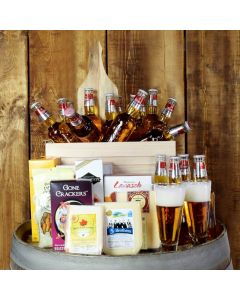 Beer With Cheese & Crackers Subscription