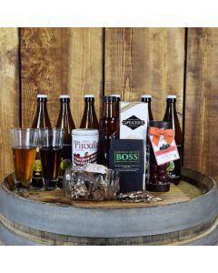 Custom Beer & Grub Subscription